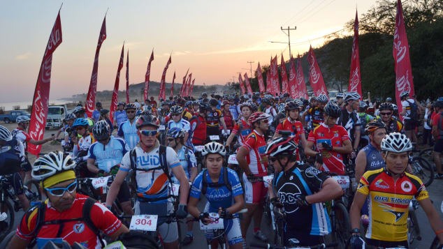 East Timor hosts an annual mountain bike stage race.