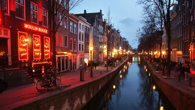 The Prostitution Information Center (PIC) is an organization that gives community-led walking tours of the Red Light District.