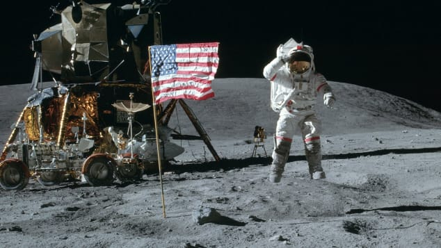 The 50th anniversary of when Neil Armstrong and Buzz Aldrin walked on the moon is July 20.