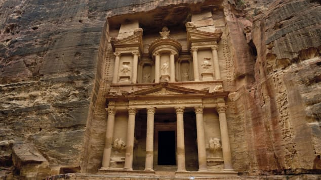 Abandoned-Sacred-Places-The-Treasury-Petra-Jordan