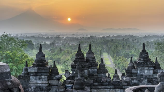 Abandoned-Sacred-Places-Borobudur-Central-Java-Indonesia