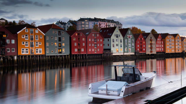 Trondheim is known for its local food scene and a storybook setting.