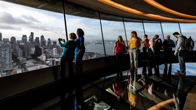 Seattle's Space Needle has recently been renovated to the tune of $100 million.