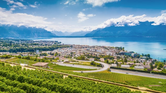 Vevey, Switzerland, hosts a momentous wine festival once every 20 years.