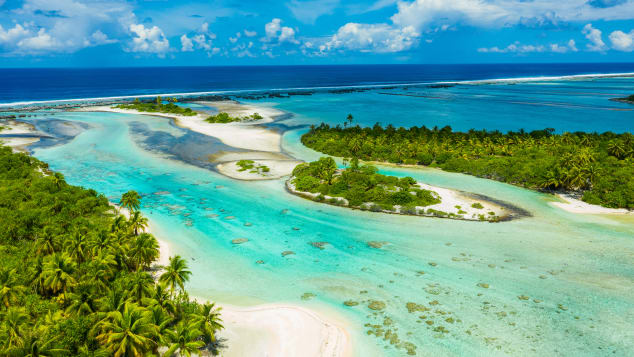 French Polynesia may be difficult to get to, but its scenery is an easy sell.
