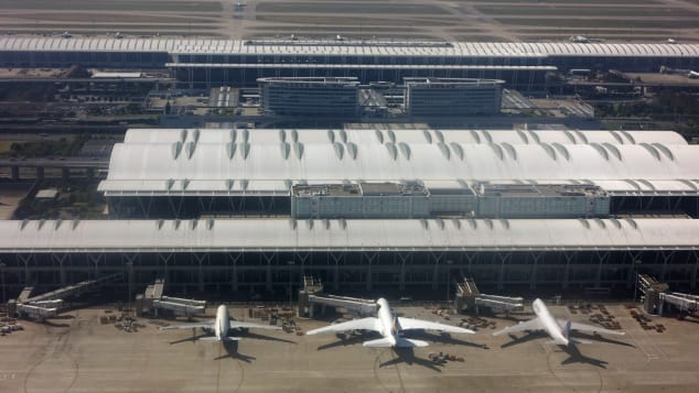 Shanghai Pudong International Airport is China's second busiest airport after Beijing Capitol.