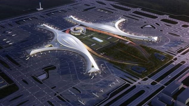 Chengdu's new Tianfu International Airport, due to open in 2020, was designed by a consortium made up of the China Southwest Architectural Design and Research Institute, China Airport Construction Group Corporation and French architectural firm ADP Ingenierie.