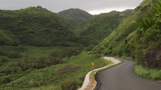 Highway 340 gives you an intimate look at Maui's North Shore.