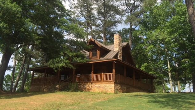 This cabin belongs to Chattahoochee Hills Eventing and was used as the home of Ironman in 'Avengers: Endgame.'