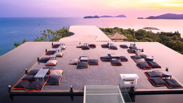 Even if you're not a Sri Panwa guest, a few drinks at its Baba Nest rooftop bar will make you feel like superstar.