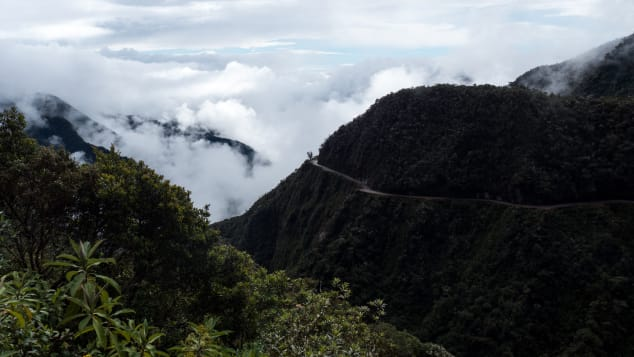 "North Yungas Road, sometimes referred to as ""Death Road,"" saw more than 200 deaths a year in the mid-1990s."