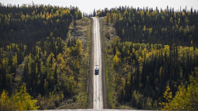Stretching from central Alaska to Prudhoe Bay, James W. Dalton Highway is one of America's northernmost roads.