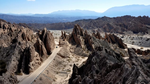 At more than 3,100 miles long, Ruta 40 is the longest road in Argentina (and one of the longest in the world).
