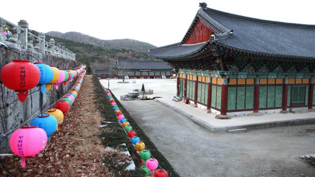 Explore Geumsansa Temple's many treasures.
