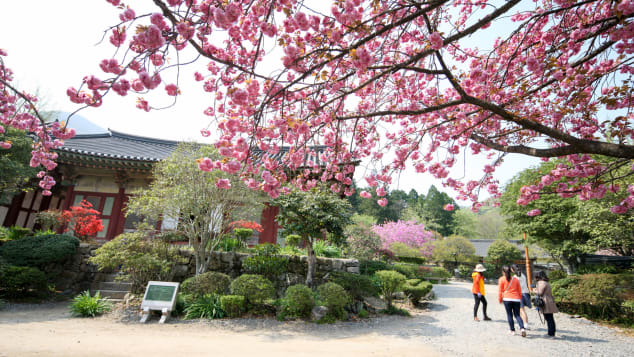 Seonamsa is famous as the birthplace of novelist Jo Jung-rae.