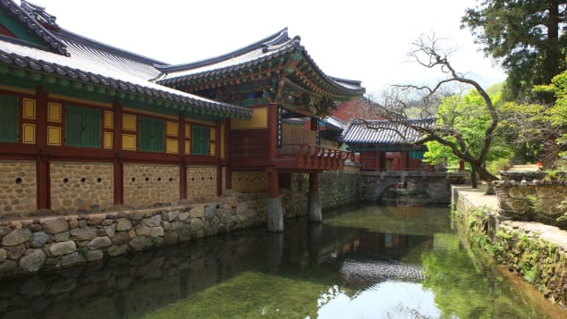 "Songgwangsa Temple is considered one of the three ""jewel temples"" of Korea."