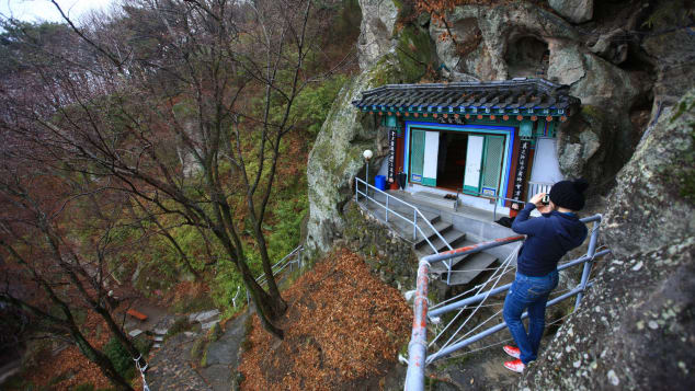 Golgulsa Temple: Come for the limestone caves, stay for the Sunmudo training.