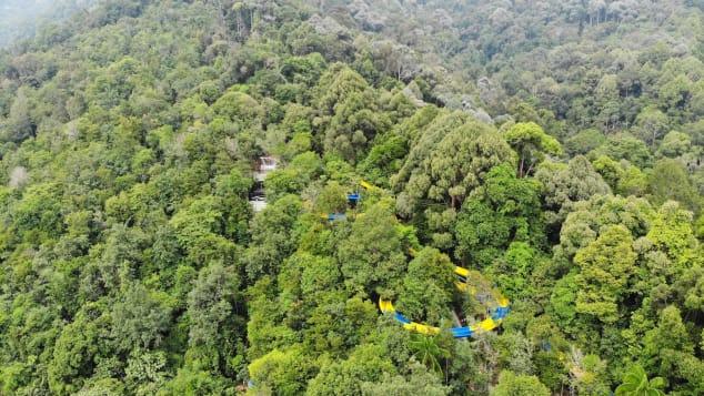 Seluncuran Air Terpanjang di Dunia Telah Dibuka di Malaysia