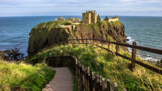 """Aberdeen is often referred to as """"The Flower of Scotland"""" thanks to its greenery."""