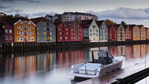 This historic city was Norway's first capital.