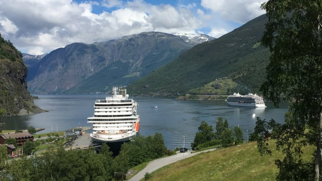 Flam, Norway, is the top-rated port in the Baltic and Scandinavia region.