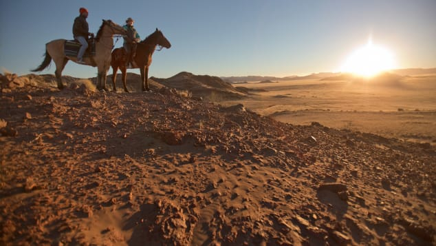 Get in the saddle and really get to know Namibia.