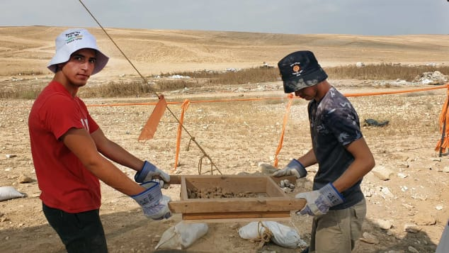 The remains of the mosque were discovered as Israeli authorities prepared to build a new neighborhood in the city of Rahat.