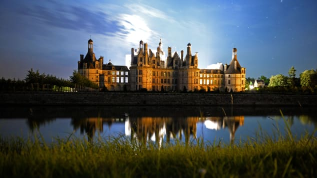 The Chateau de Chambord took 28 years to build.