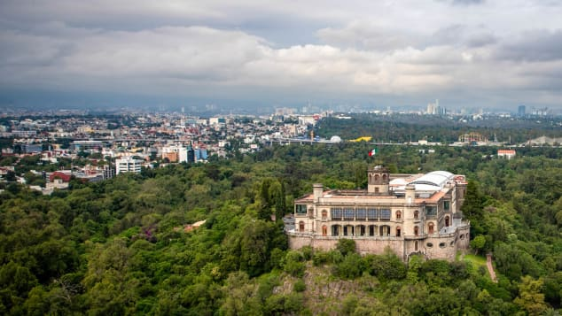 Chapultepec is the only royal castle in the Western hemisphere.