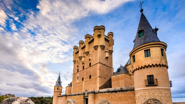 Segovia's Alcazar was once the home of Queen Isabella.