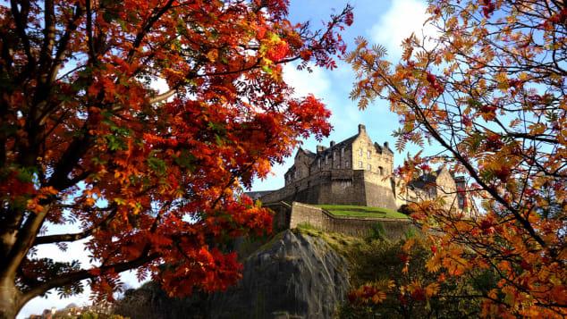 Edinburgh Castle is Britain's most besieged fortress.