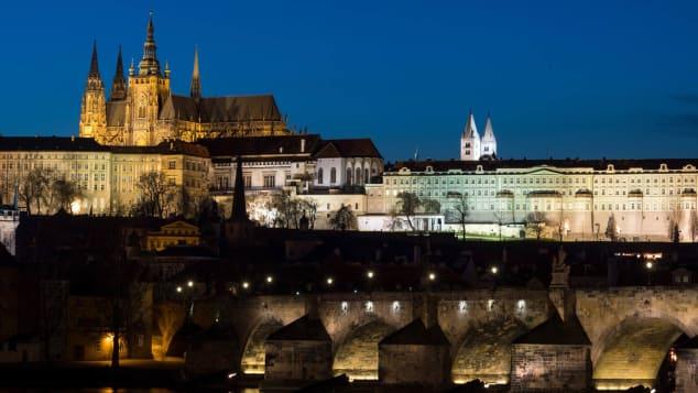 Prague's citadel still boasts real political power.