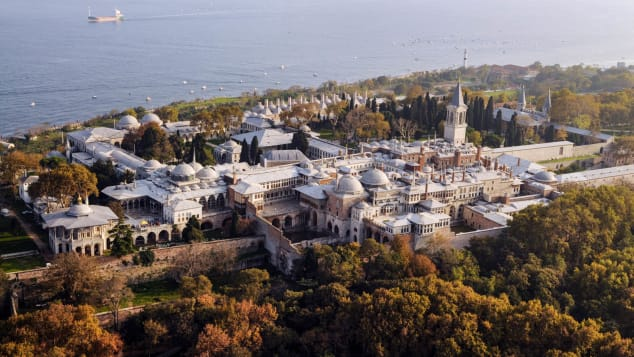 Istanbul's sprawling Topkapi Palace is now a museum.