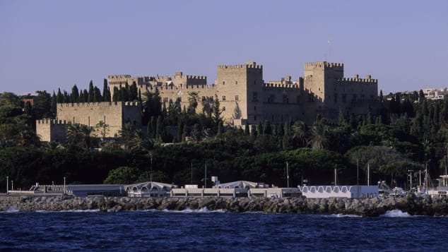 Italian dictator Benito Mussolini once used Rhodes' medieval castle as a holiday home.