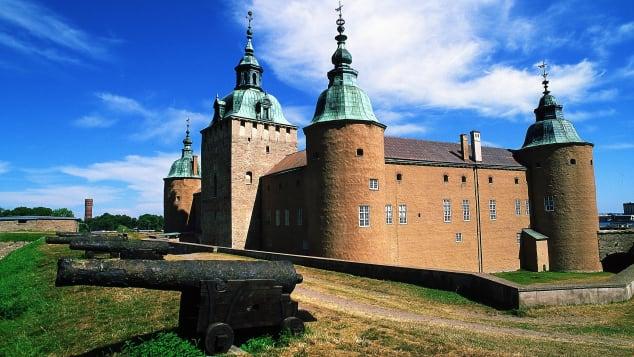 Kalmar is Scandinavia's best-preserved Renaissance castle.