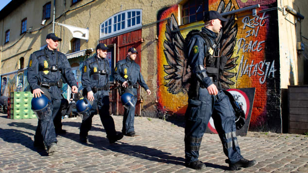 Police raids on illegal drug vendors have become a regular fixture of life in Christiania.