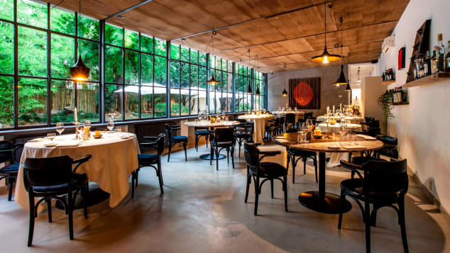 Innocenti Evasioni features a Zen garden and sublime seasonal dishes.