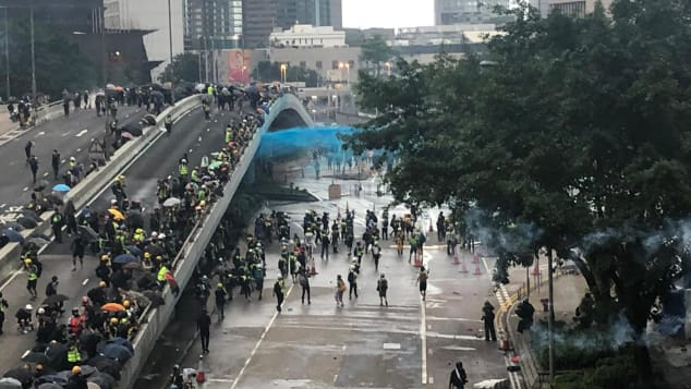 If the UK civil unrest becomes like that in Hong Kong, Americans will stop coming