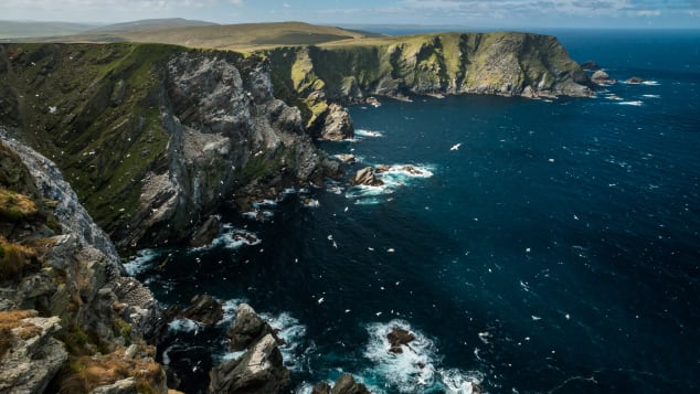 Unst is the last outpost of the United Kingdom.