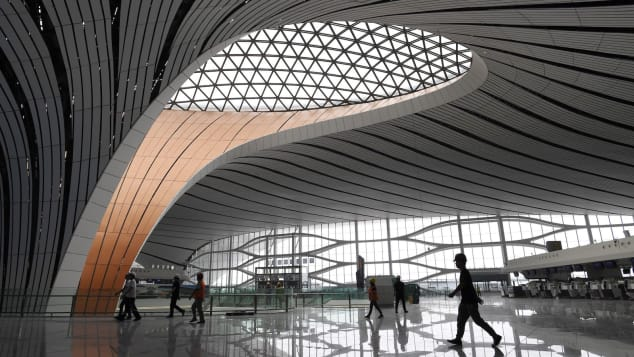 The terminal has more than 8,000 distinct rooftop windows.