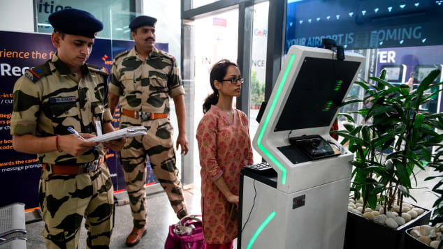 India-facial-recognition-airport