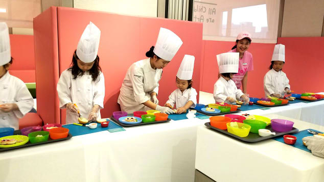 South Korea1 Hotels -childrens cooking class at le parker meridien seoul photo frances cha for cnn