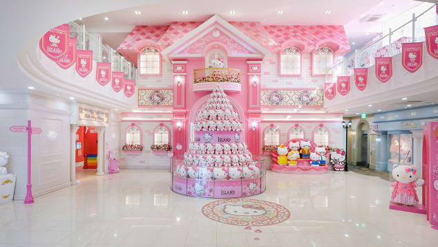South Korea5 Hello Kitty Island lobby courtesy Hello Kitty Island