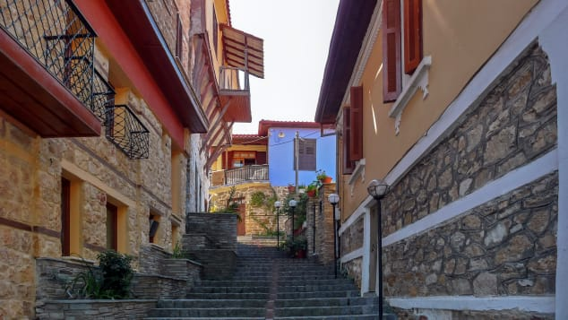 Arnea is known for its pretty traditional villages.