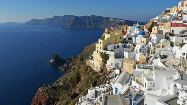 Oia is one of the most recognized places in Santorini.