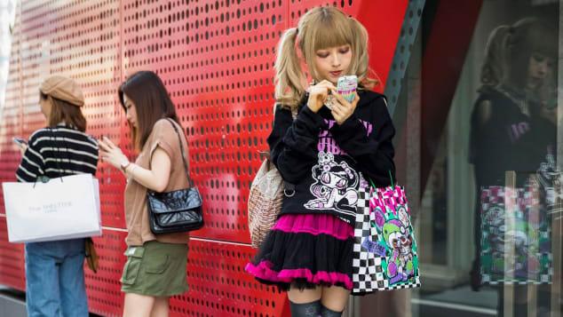 Harajuku street fashion is world-renowned.
