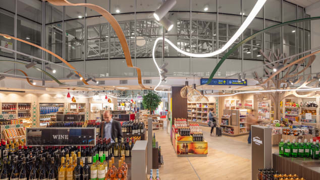 Not all duty free shops are created equal -- sometimes different stores in the same airport can have varying prices on the same item.