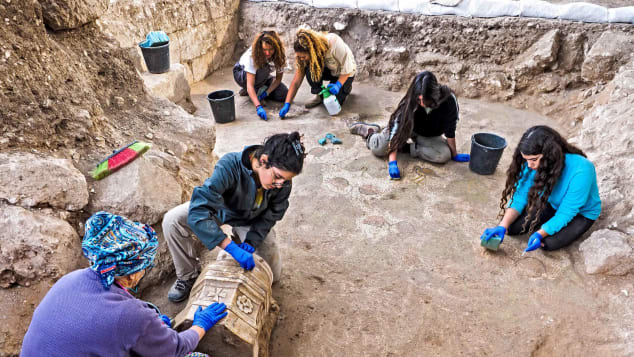 Other artifacts discovered at the site constituted what is said to be the largest collection of Byzantine windows and lamps ever found in a single place in Israel.