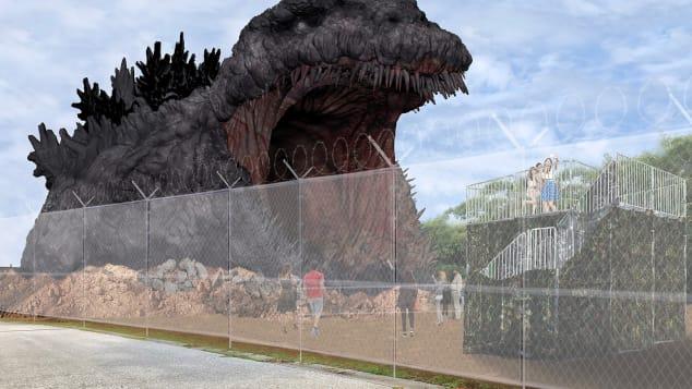 Nijigen'nomori Godzilla