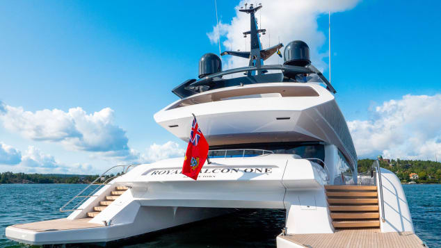 Royal Falcon One yacht images